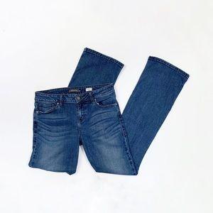 Level 99 Chloe Boot Cut Jeans Stretch Anthro Sz 31